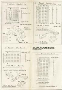 blokrooster-werkblad