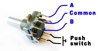 rotary-encoder-connection