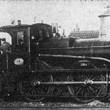 """Afb2 - NCS nr 19 """"Java"""" serie 16-20 Hanomag. Hannover-Linden 1874-'76"""
