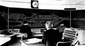 Afb. 13 - Een kijkje in Post T te Amersfoort, waar op 23 april 1961 een NX-beveiliging in dienst werd gesteld.