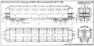 Afb. 12 - Lokaalrijtuig 2e klasse