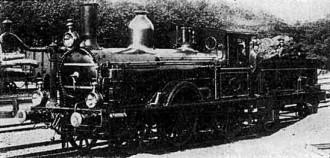 Afb. 3-N.B.D.S.nr.1 Beyer Peacock & Co. Manchester 1873. (Foto. Derens)