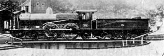 Afb. 11 - S.S. nr. 996 serie 995-999. Beyer- Peacock & Co. 1900.(Foto: Derens)