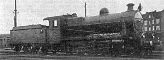 Afb. 12- S.S. nr. 1302 vroeger N.B.D.S. nr. 119. Hohenzollern 1917. (Foto: Derens)