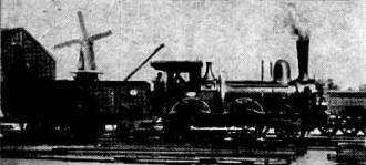 Afb. 9 - N.R.S. loc. serie 1-36 (gewone Engelsen) loc. 1019 S.S. Rotterdam Maas 1895, foto L. Derens.