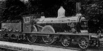 Afb. 19 - N.R.S. loc. serie 101—109 (grote snellopers). (Foto: Spoorwegmuseum)