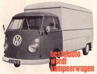 VW T2 campeer bus ombouw