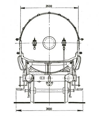 gaswagen technische tekening kopkant