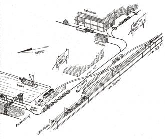 emplacement Koninklijke Nederlandsche Gist- en Spiritusfabriek NV in Delft