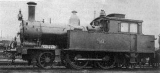 Afb. 17 - 1B1 tenderloc. N.S. serie 7111-7125 (S.S. 531-545). Ho-henzolllern, Düsseldorf. 1907/08. (Foto L. Derens)