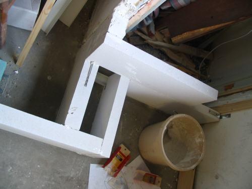 Ombouw van slaapkamer naar badkamer deel automatic rock